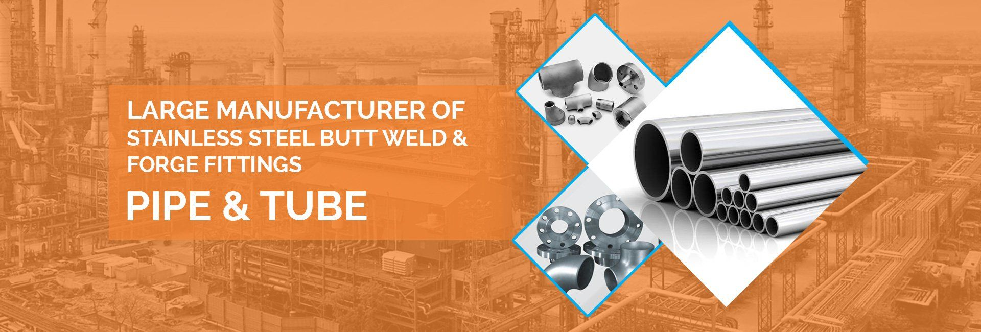 SS Butt Weld and Forge Fittings Manufacturer in India